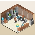Office Room Design vector image