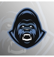 Angry Gorilla symbol emblem sport logo vector image vector image
