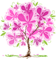 Blossom tree design vector image