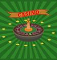casino set vector image