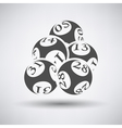 Lotto Balls Icon vector image vector image
