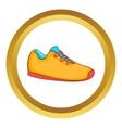 Sneakers icon vector image vector image
