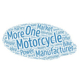 The History of Motorcycles text background vector image vector image