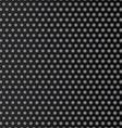 Steel honeycomb patterned dark background vector image