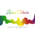 abstract color spectrum wave vector image