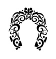 Abstract Horseshoe vector image vector image