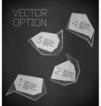 abstract modern Label vector image vector image