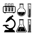 chemical industry design vector image vector image