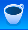 cup of tea icon isometric style vector image