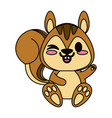 cute animal cartoon icon image vector image