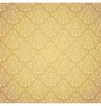 Golden festive ethnic pattern vector image vector image