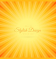 orange color background with transparent line vector image vector image