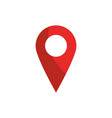 pointer gps map and navigation vector image vector image