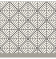 Seamless Black and White Lace Pattern vector image vector image
