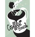 Titanic coffee vector image vector image