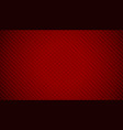 abstract red carbon fiber texture background vector image