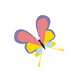 butterfly insect vector image vector image