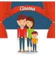 cinematographic hobby design vector image vector image