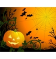 Drawing by day halloween with vector image vector image