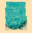 ocean underwater background for designvintage sea vector image
