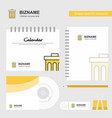 trash logo calendar template cd cover diary and vector image vector image