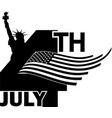4th july independence day -2 vector image