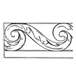 evolute spiral trellis is made out of wrought vector image
