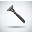 Safety razor icon vector image vector image