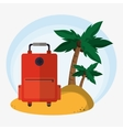 Time to travel vacations design vector image vector image