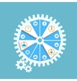 Work Gear vector image vector image