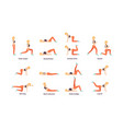 exercise sport vector image vector image
