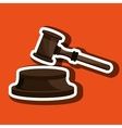 law concept design vector image