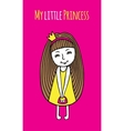 My little Princess vector image vector image