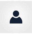 People icon simple vector image vector image