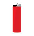 Red pocket lighter vector image