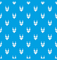 swimsuit pattern seamless blue vector image