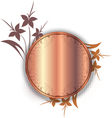 abstract floral decorations vector image