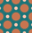 Abstract colored hedgehogs vector image