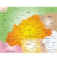 Burkina Faso vector image vector image