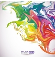 colorful stains paint abstract background vector image