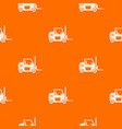 forklift pattern seamless vector image vector image