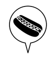hot dog pictogram icon image vector image vector image