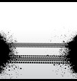 isometric tire track vector image