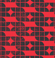 Old tiles seamless background retro style pattern vector image vector image
