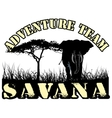 savana vector image vector image