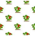 Strawberry icon cartoon Single plant icon from vector image vector image