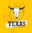 texas pride rough grunge vector image vector image