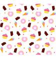 sweet pattern vector image