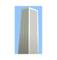 A building of the city vector image vector image