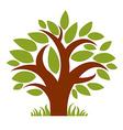 Art fairy of tree stylized eco symbol Insight vec vector image vector image